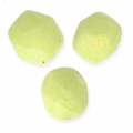 Faceted beads 4mm Honeydew Pacifica x50