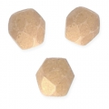 Faceted beads 3mm Macadamia Pacifica x50