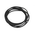 Rubber full cord 1.80 mm Black x3m