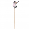 24 wooden sticks - Magical Summer - Unicorn  - Pink/Multicolored x1