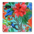 Paper towels Tropical Paradise 33cm Multicolored x20