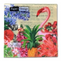 Paper towels Tropical Garden 33cm Multicolored x20