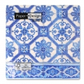 Paper towels Blue tiles Azulejos 33 cm Blue x20