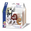 Fimo Soft modeling Kit : Letters - Home