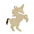 Unicorn Gold filled charm 20 mm - 14 carats