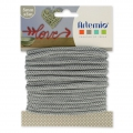 Knitting thread for customization 5 mm Grey x 5m