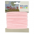 Knitting thread for customization 5 mm Light Pink x 5m