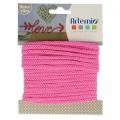 Knitting thread for customization 5 mm Fuchsia Pink x 5m