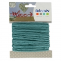 Knitting thread for customization 5 mm Green Turquoise x 5m
