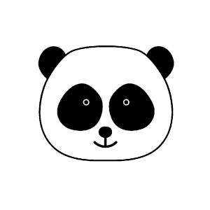 Wooden Stamp 26 X 26 Cm Panda X1