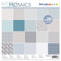 Paper Pad for scrapbooking 30.5x30.5 cm Mosaics x40 sheets