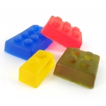 Basic molds for DIY soap creation Building toy 4 shapes