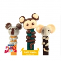 Fimo modelling kit : Jungle Kings Bookmarks to make by yourself
