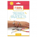 Cotton thread jewels kit : Braids and bracelets to make by yourself