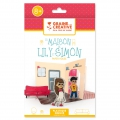 Shrinking plastic kit : Lily and Simon's house to make by yourself