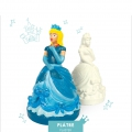 Plaster kit - Princess Aélis and her magical glitters to make by yourself