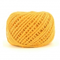 Braided jute cord 2mm Yellow x 60 m