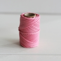 Waxed cotton thread for macrame - Kesi Art - 1 mm Palpitant x 20 m