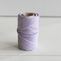 Waxed cotton thread for macrame - Kesi Art - 1 mm  Fleur de Bruyère x 20 m