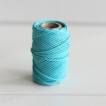 Waxed cotton thread for macrame - Kesi Art - 1 mm  Baltic x 20 m
