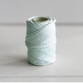 Waxed cotton thread for macrame - Kesi Art - 1 mm Voile de Brume x 20 m