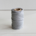 Waxed cotton thread for macrame - Kesi Art - 1 mm Météore x 20 m