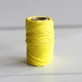 Waxed cotton thread for macrame - Kesi Art - 1 mm Citronnier x 20 m