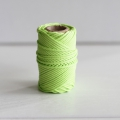 Waxed cotton thread for macrame - Kesi Art - 1 mm Phosphore x 20 m