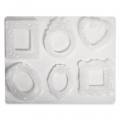 Molds for plaster, resin, soap and others molding - Photo frames x6