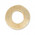Design pendant 19 mm for 8 or 10 mm Polaris or round Satin Gold Tone