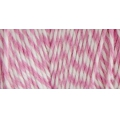 Bobbin of 125 meters of Bakers Twine 1 mm White/Pink
