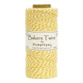 Bobbin of 125 meters of Bakers Twine 1 mm White/Yellow