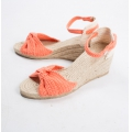 Pair of Phildar wedge soles to customize Size 39/40 Natural