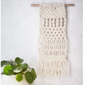 Kit DIY mini macrame to make a wall hanging 40 cm  x1