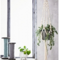Kit DIY macrame suspension turquoise x1