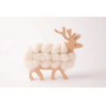 Kit DIY Wooden deer to customize for interior decoration x1