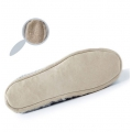 Pair of Phildar soles for slippers to customize Size 27-30 leather