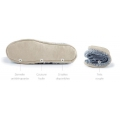 Pair of Phildar soles for slippers to customize Size 23-26 leather