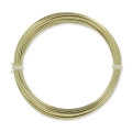 Brass Wire 0,8 mm anti tarnish x 6m