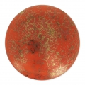 Glass Cabochon by Puca® 25 mm Mandarine Luster Bronze x 1