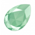 Swarovski 4327 Pear Fancy Stone 30x20mm Crystal Mint Green