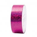 Adhesive Tape  - Paper Poetry Tape 20 mm Hologramme Fuchsia dots x10m