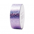 Adhesive Tape  - Paper Poetry Tape 20 mm Hologramme Lilac dots x10m
