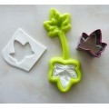 Molds and cookie cutter Viva Decor for modelling - Patchy Ivy Leaf