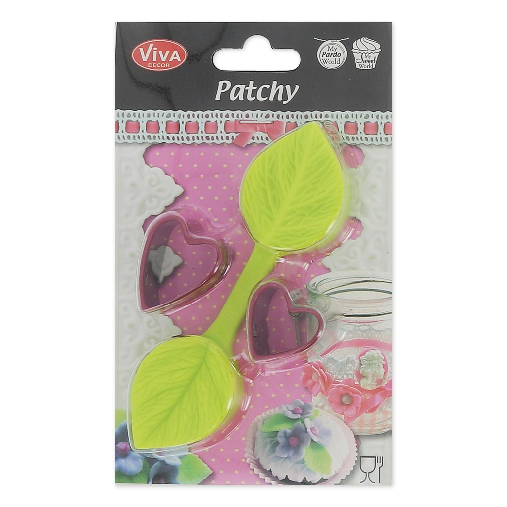 Molds And Cookie Cutter Viva Decor For Modelling Patchy
