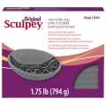 Oven Bake clay Original Sculpey 794 gr Gray