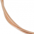 Rose Gold filled 12K 1.mm thread half hard x 1m