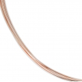 Rose Gold filled 12K 0.51mm thread half hard x 1m