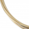 Gold filled 12K 0.81mm Flexible thread x 1 m