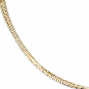 Gold filled 12K 0.41mm Flexible thread x 1 m